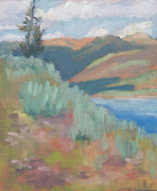 12x10{quote} oil© S'zanne ReynoldsPrivate Collection in West Yellowstone, Montana