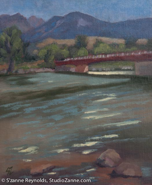 12x10{quote} oil, plein airYellowstone RiverLivingston, MTYellowstone River Parks Association