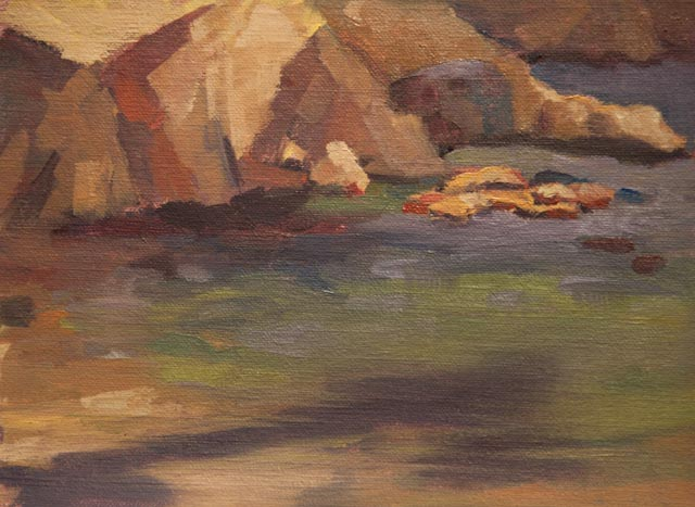 6x8{quote} oil, plein air© S'zanne ReynoldsMonterey Bay National Marine Sanctuary