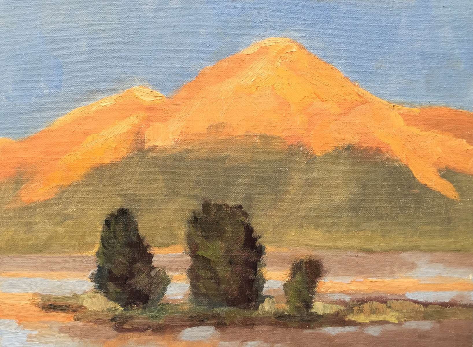 9x12{quote} oil, plein air© S'zanne ReynoldsBear Trap Canyon National Park