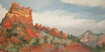 8x16{quote}oil, plein airSedona, AZEnchanted moments amoung red giants.Red Rock State Park, Sedona, AZ