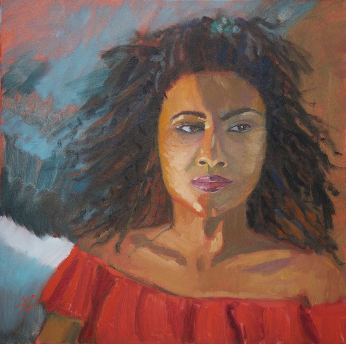 24x24{quote} oil on canvas© S'zanne ReynoldsPrivate Collection in Tallahassee, Florida