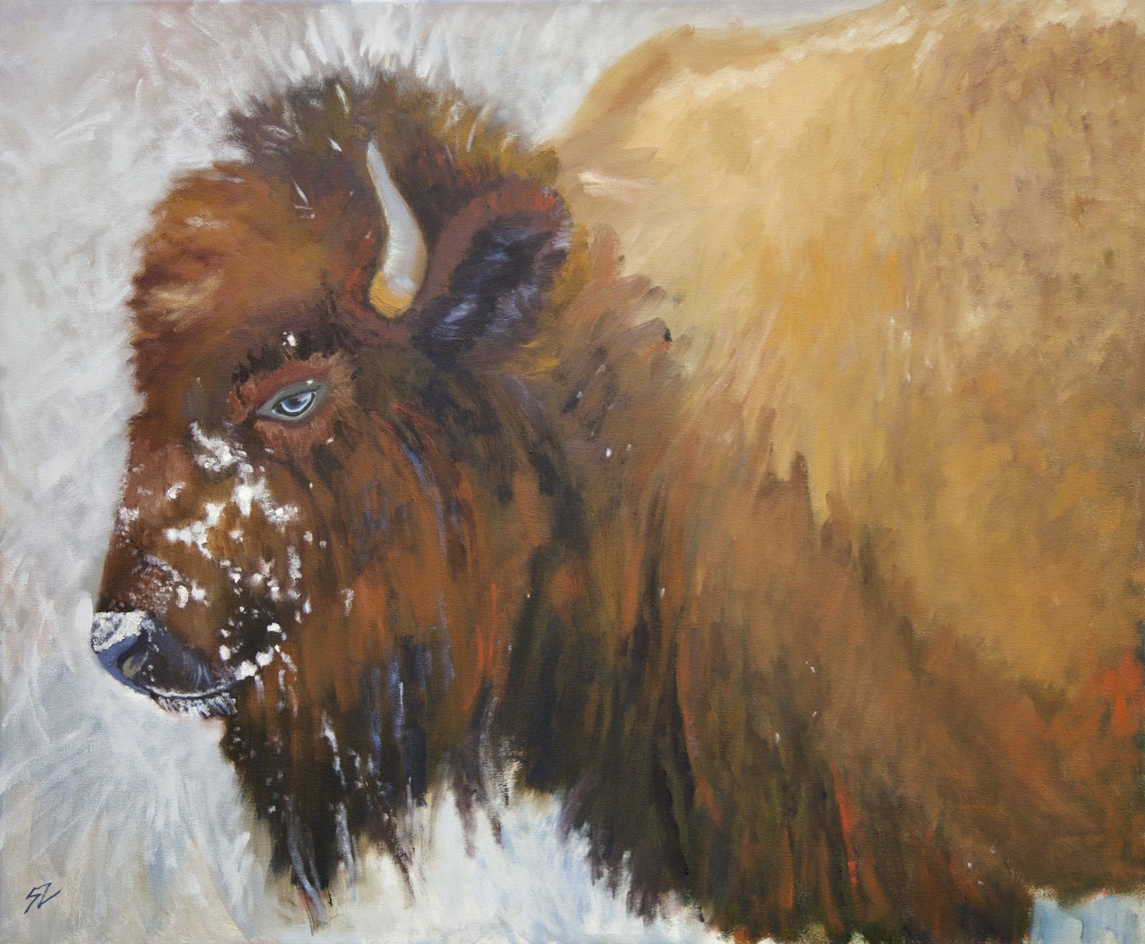 30x36{quote} oil on canvasLamar Valley, Yellowstone National Park© S'zanne ReynoldsPrivate Collection in Tallahasee, Florida