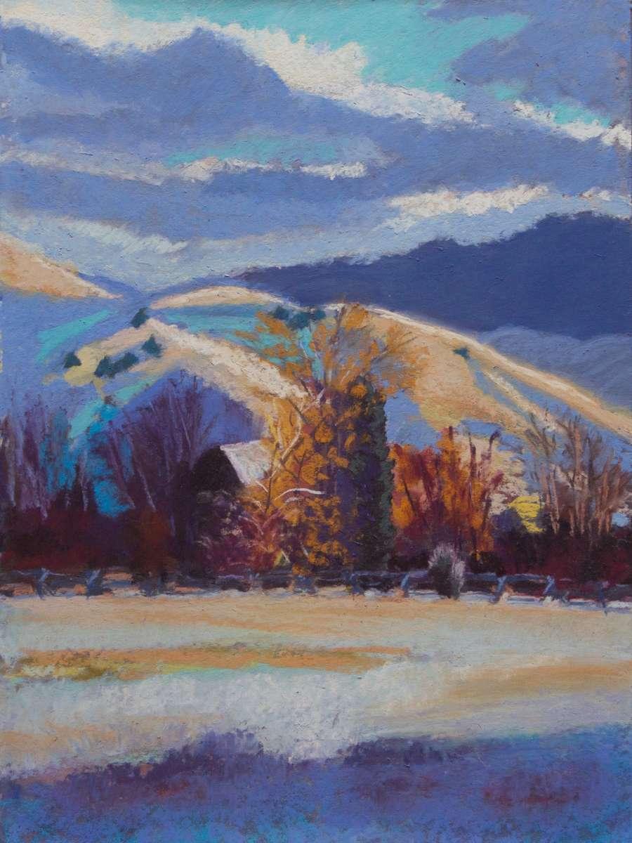 12x9{quote} pastel© S'zanne ReynoldsUp South Meadow Creek