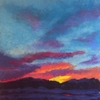 10x10{quote} pastel© S'zanne ReynoldsJack Creek Preserve