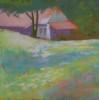 12 x 12 pastelDonated to Collegiate School 2014 Winter Gala Auction© S'zanne ReynoldsRichmond, Virginia