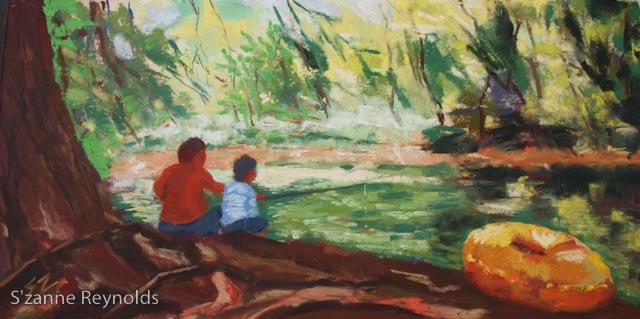 6x12{quote} pastel© S'zanne ReynoldsPrivate Collection, Austin, TX