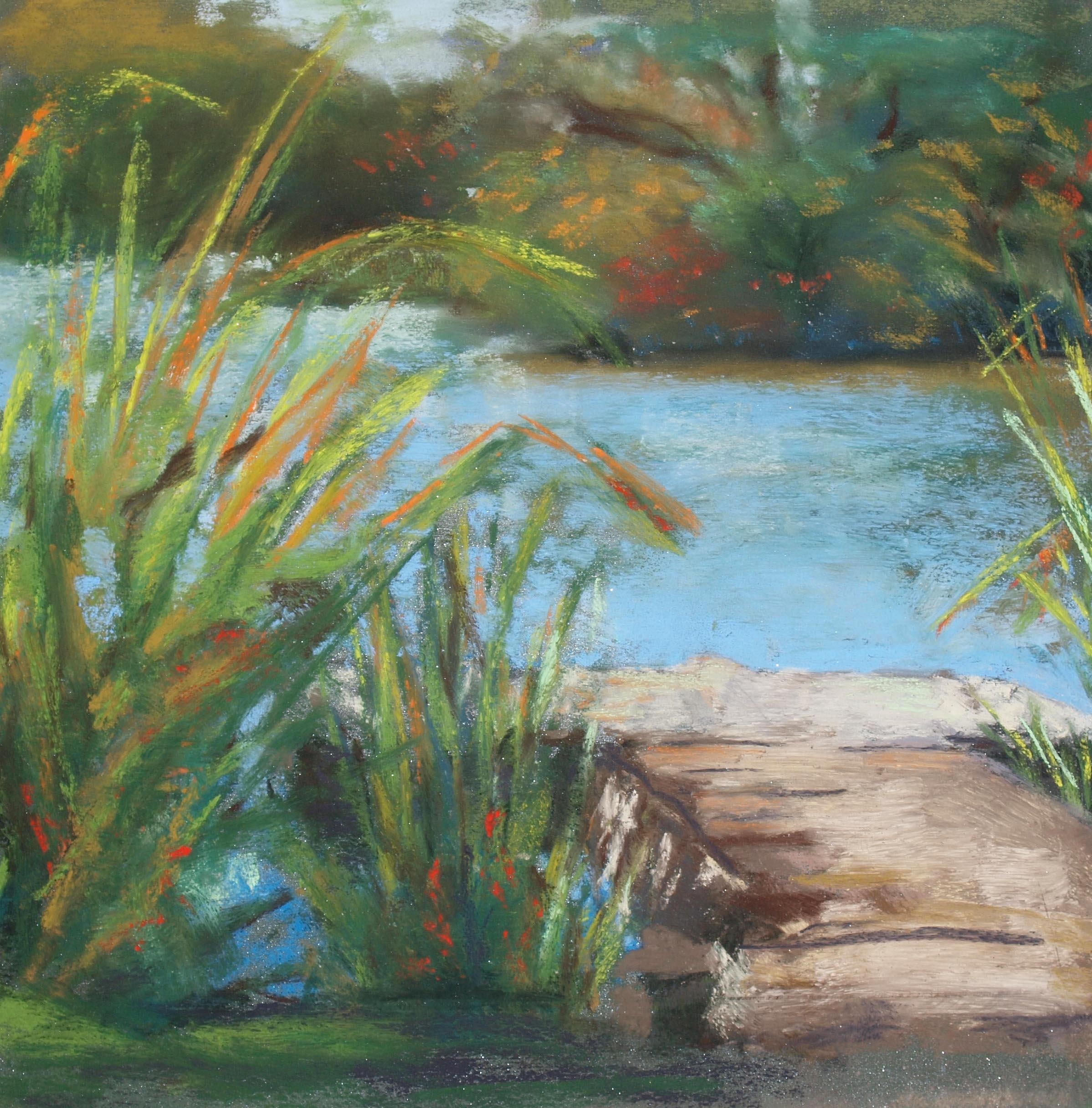 Plein aire pastel by Denise