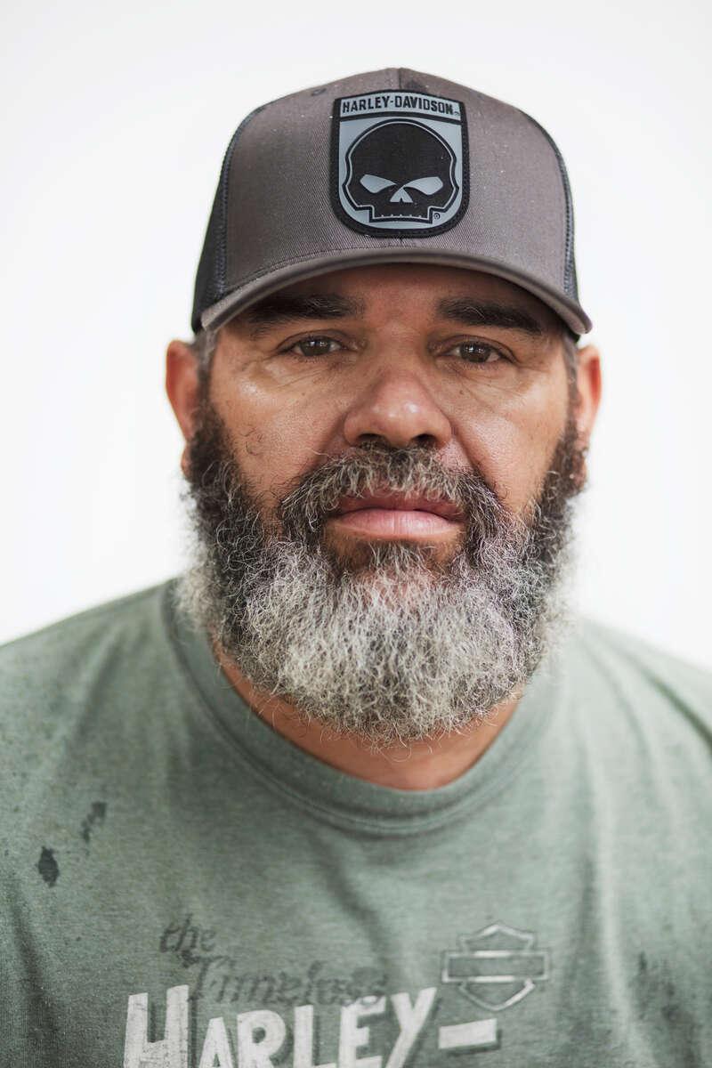 Pembroke, NC Mickey Revels(Travis Dove for The Washington Post Magazine)