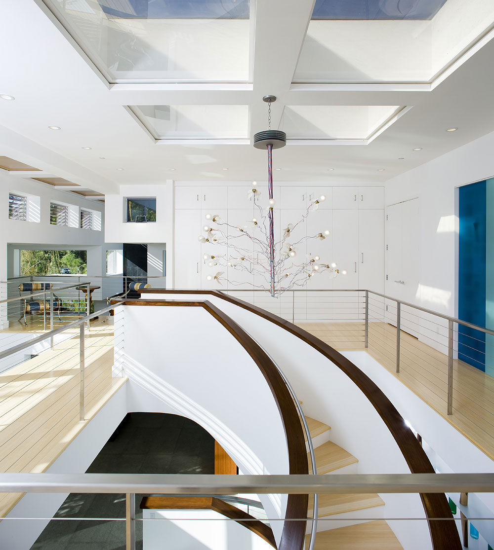 architectural photographer Dana Hoff photograph of tTHIS CONTEMPORARY HOME INTERIOR PHOTOGRAPHY