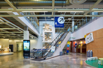 Award winning architectural photography by photographer Dana Hoff at www.danahoff.com. Commercial retail mall architectural photographer Dana Jeffery Hoff