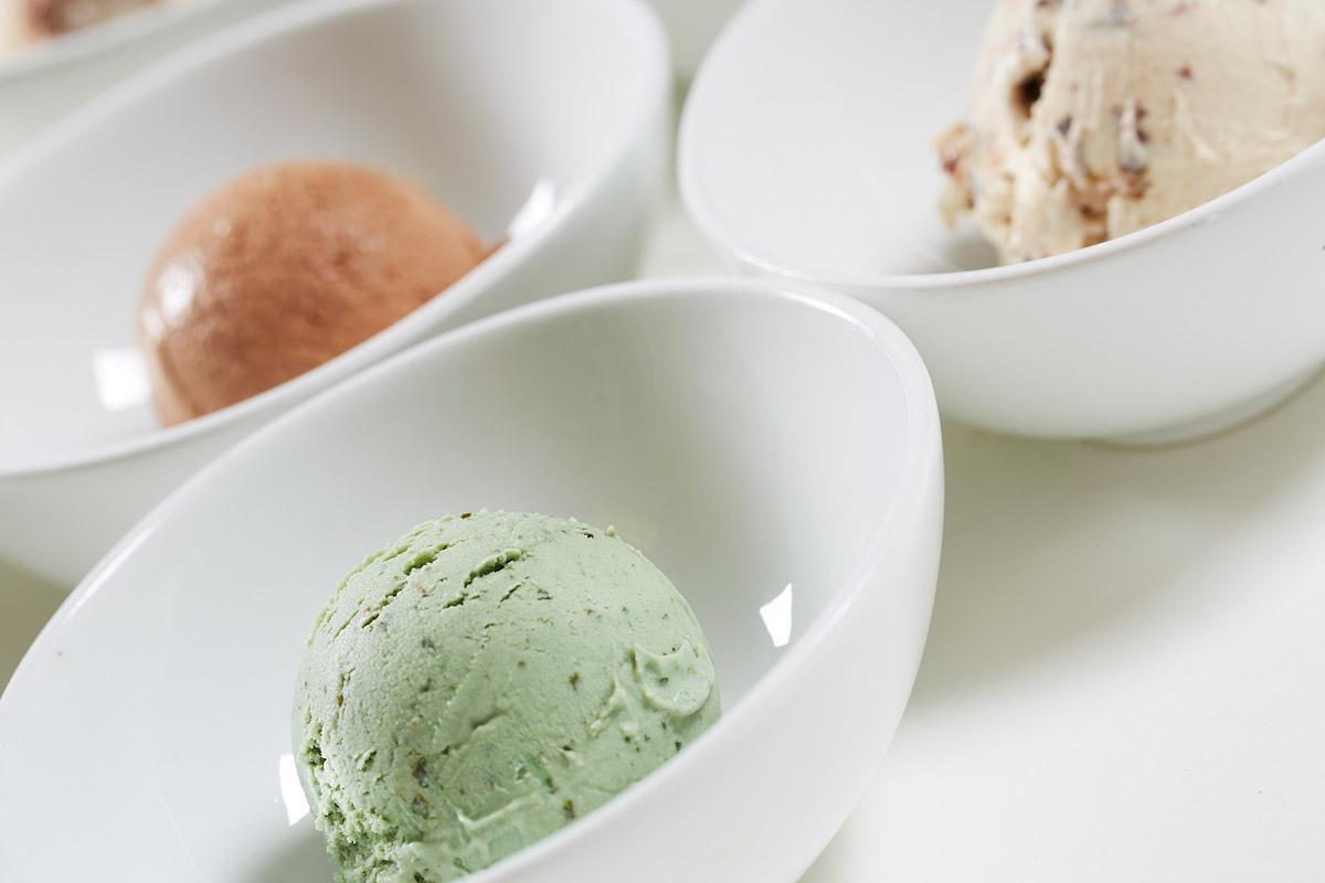 fresh raw organic ingredients for smoothie drink