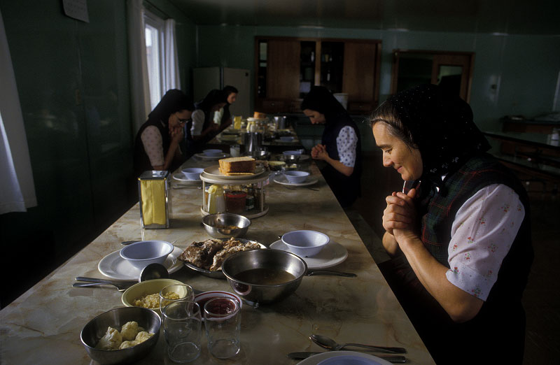 Shot on assignment for WASHINGTON Magazine. My photo essay on the eastern Washington Hutterite Commune was full of poignantly beautiful moments.Frozen in time the Hutterites live a simple, productive, religious life.