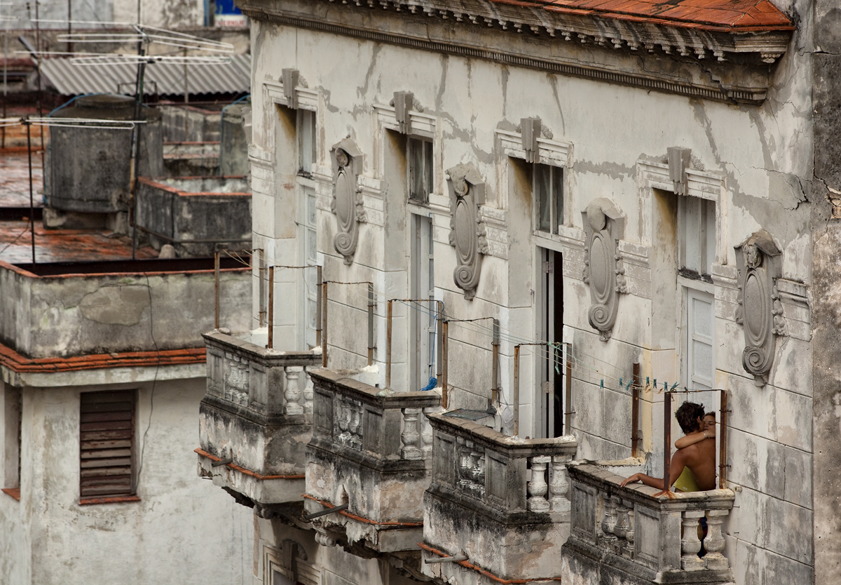 Lovers. Havana, Cuba