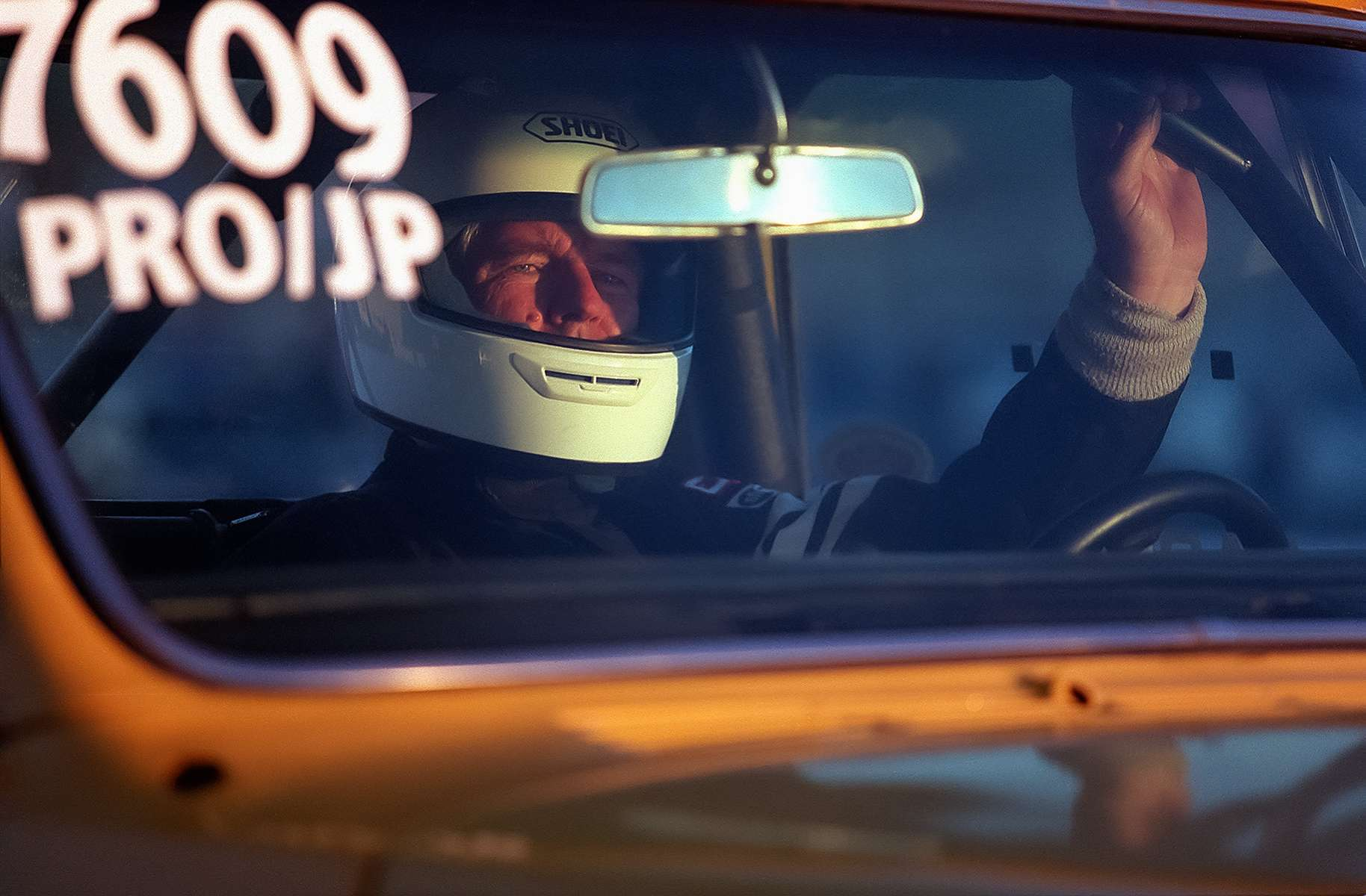 Larry Ball awaits the start of the next heat in his modified 1971 Chevy truck at the Wednesday Night Drag Races at Sears Point Raceway in Sonoma, Calif.DAVID ELKINS/REGISTER