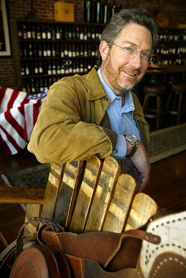Mark Pope founded his company, Bounty Hunter, to seek out rare and hard to find wines.