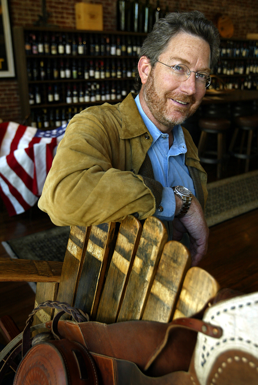 Mark Pope, The Bounty Hunter wine shopNapa, California