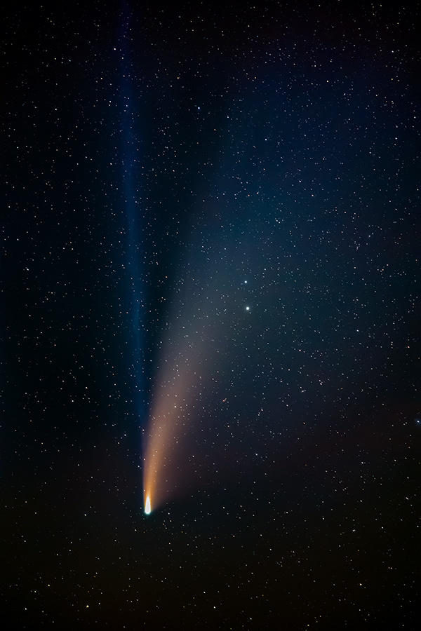 Comet NEOWISE lit up the skies in the summer of 2020.
