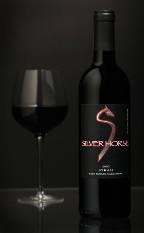 SilverHorse_blackBG