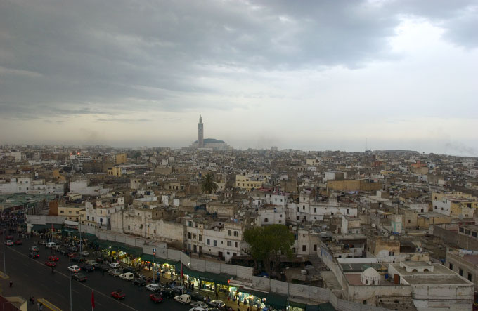 Landscape of Casablanca City