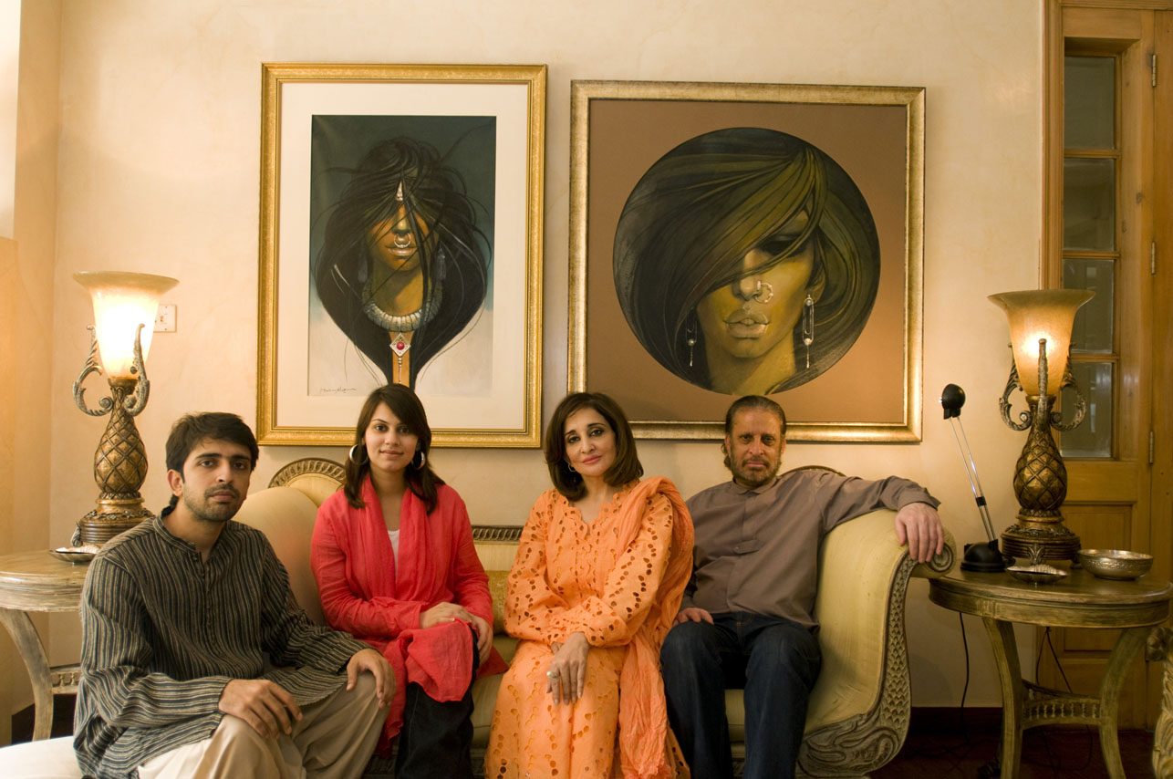 Pakistani family in Lahore