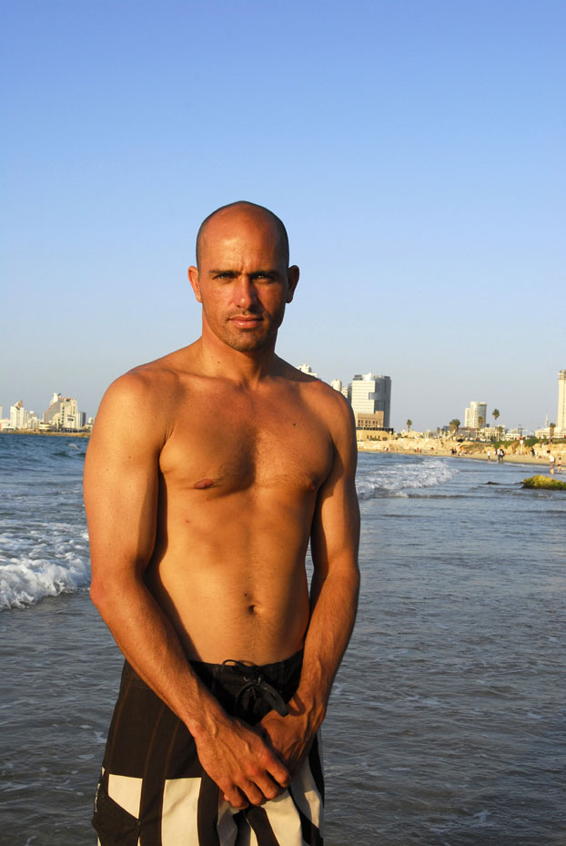 KellySlater in Israel