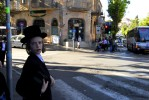 Young ultra orthodox jewish boy in Mea Sharim, a very conservative jewish neighborhood in Jerusalem.  