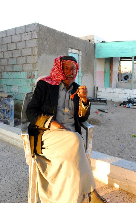 Jordanian man in Wadi Rum, Jordan