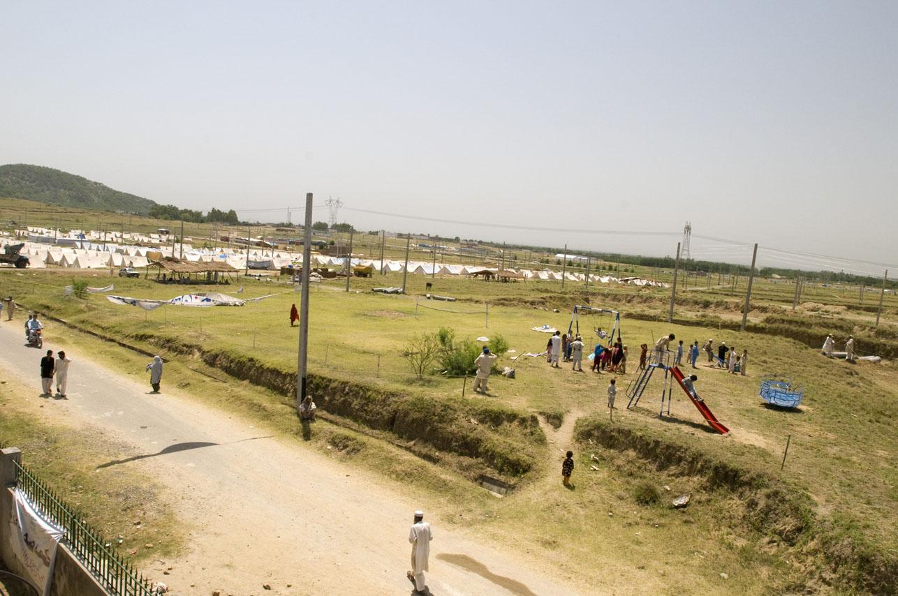 Swabi IDP Camp