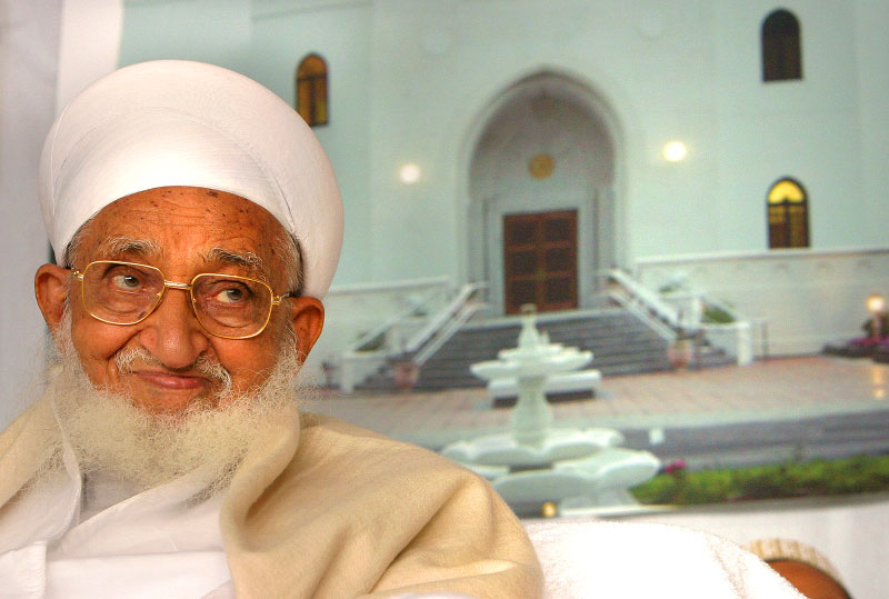 Dr. Syedna Mohammed Burhanuddin, leader of the Islamic community, Dawoodi Bohra, visits for a week to bless and celebrate the opening of a new 40,000-square-foot mosque in Billerica.  The mosque is the first of its kind built in New England and cost an estimate of $18 million.