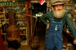Popcorn Sutton has spent his life making moonshine somewhere in the Blue Ridge Mountains of North Carolina.