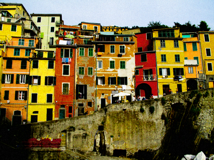 A village and comune in the province of La Spezia, situated in a small valley in the Liguria region of Italy. It is the first of the Cinque Terre one meets when travelling north from La Spezia.