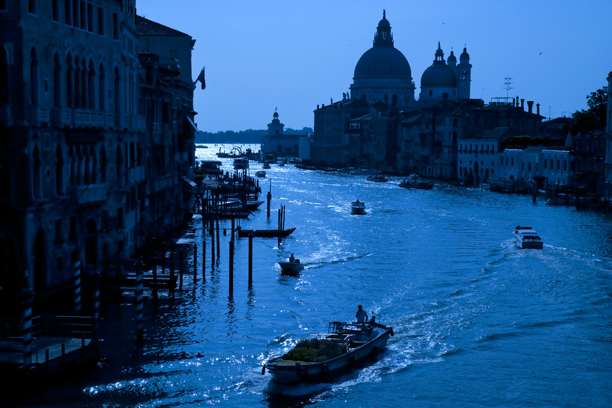 Venice, a city in northeast Italy.