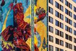 "Graduate ColumbusThe JourneyAn 11-story, 3-part mural project Artists:  Ryan {quote}Yanoe{quote} Sarfati & Eric ""Zoueh"" SkotnesGraduate Hotels & AJ Capital"