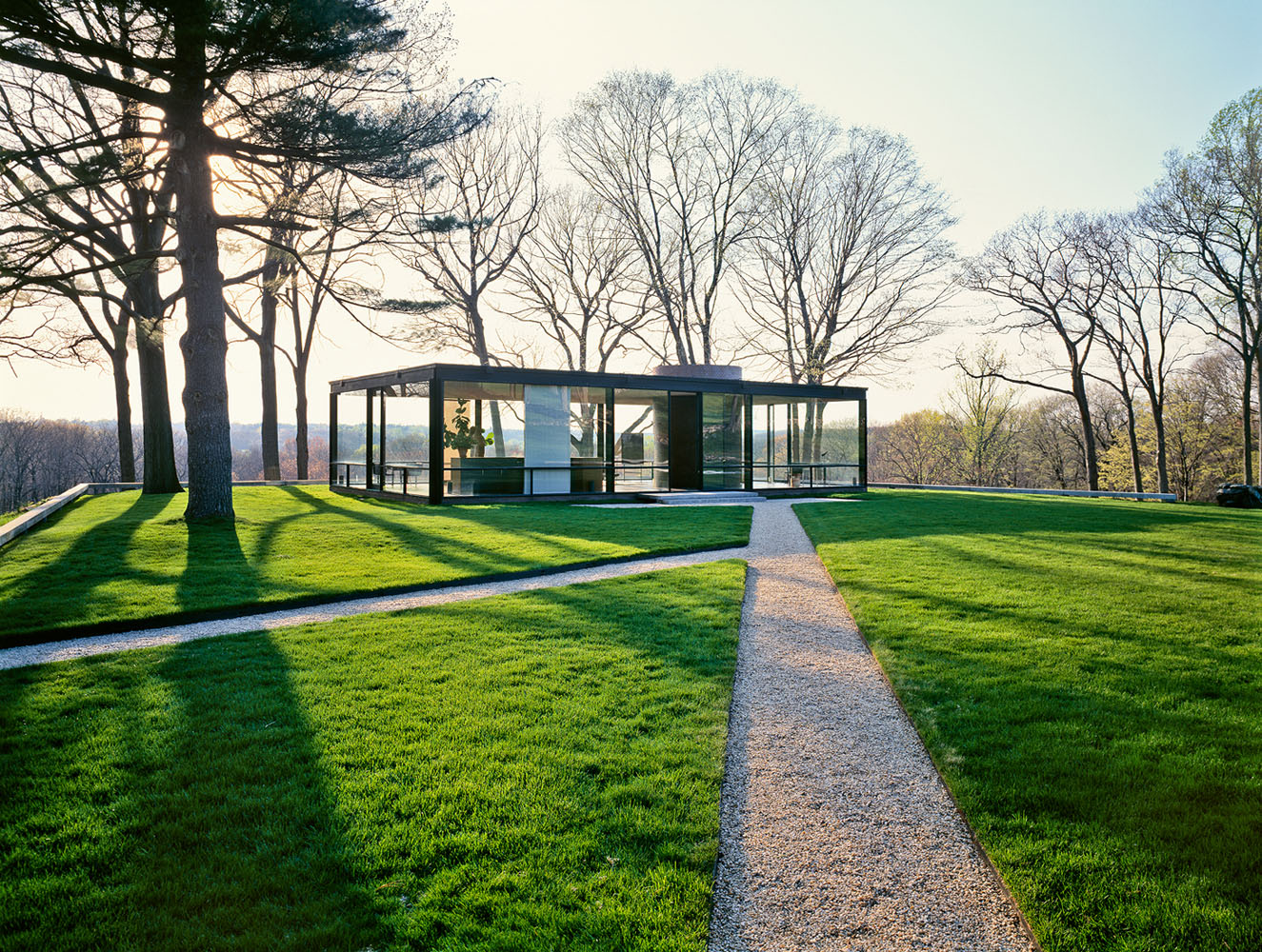 Philip Johnson's Glass HouseNew Canaan, CTPreservation Magazine /National Trust for Historic Preservation