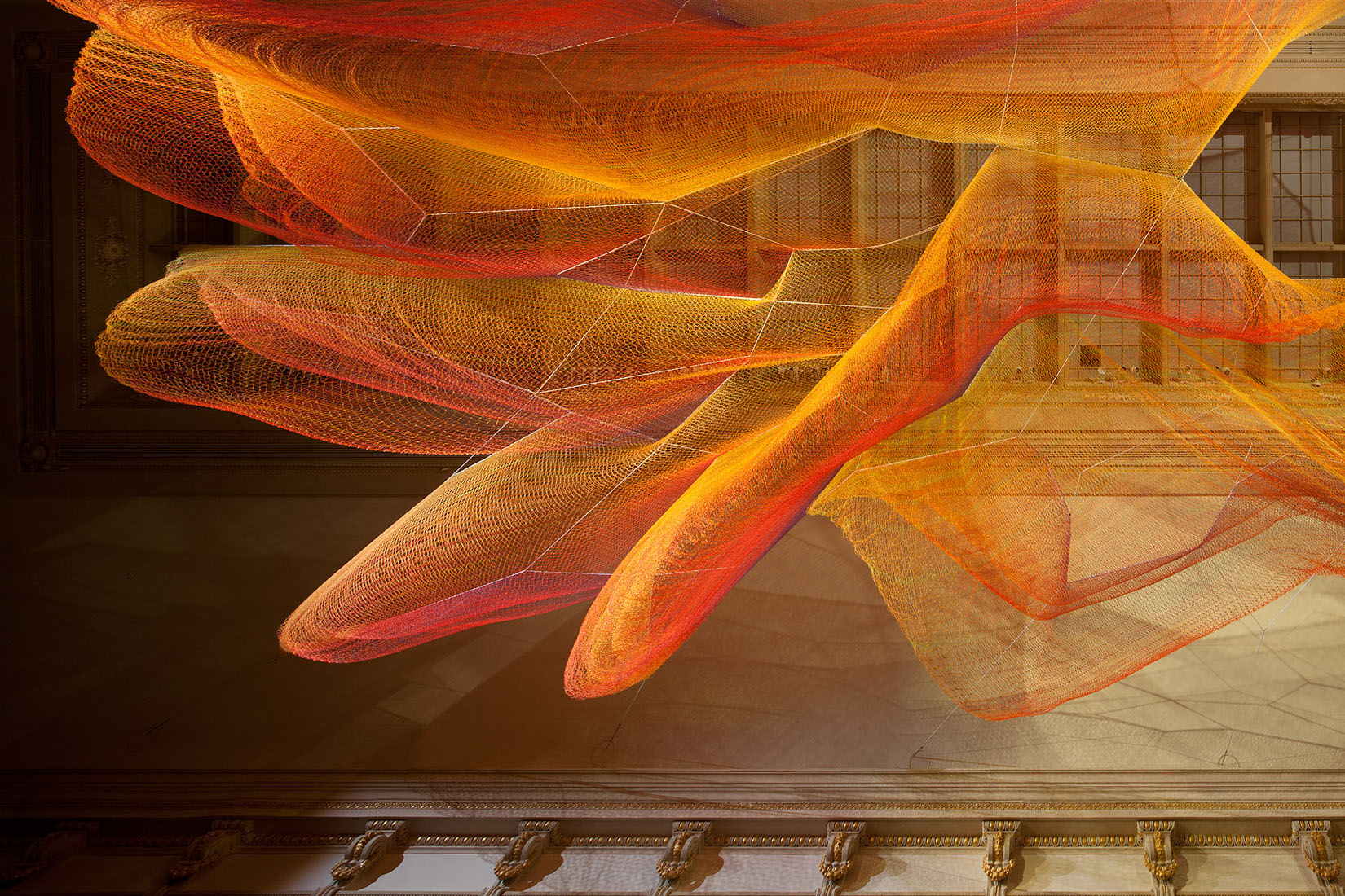 Janet Echelman1.8WONDER Exhibition 2015-16RENWICK GALLERYSmithsonianWashington, DC