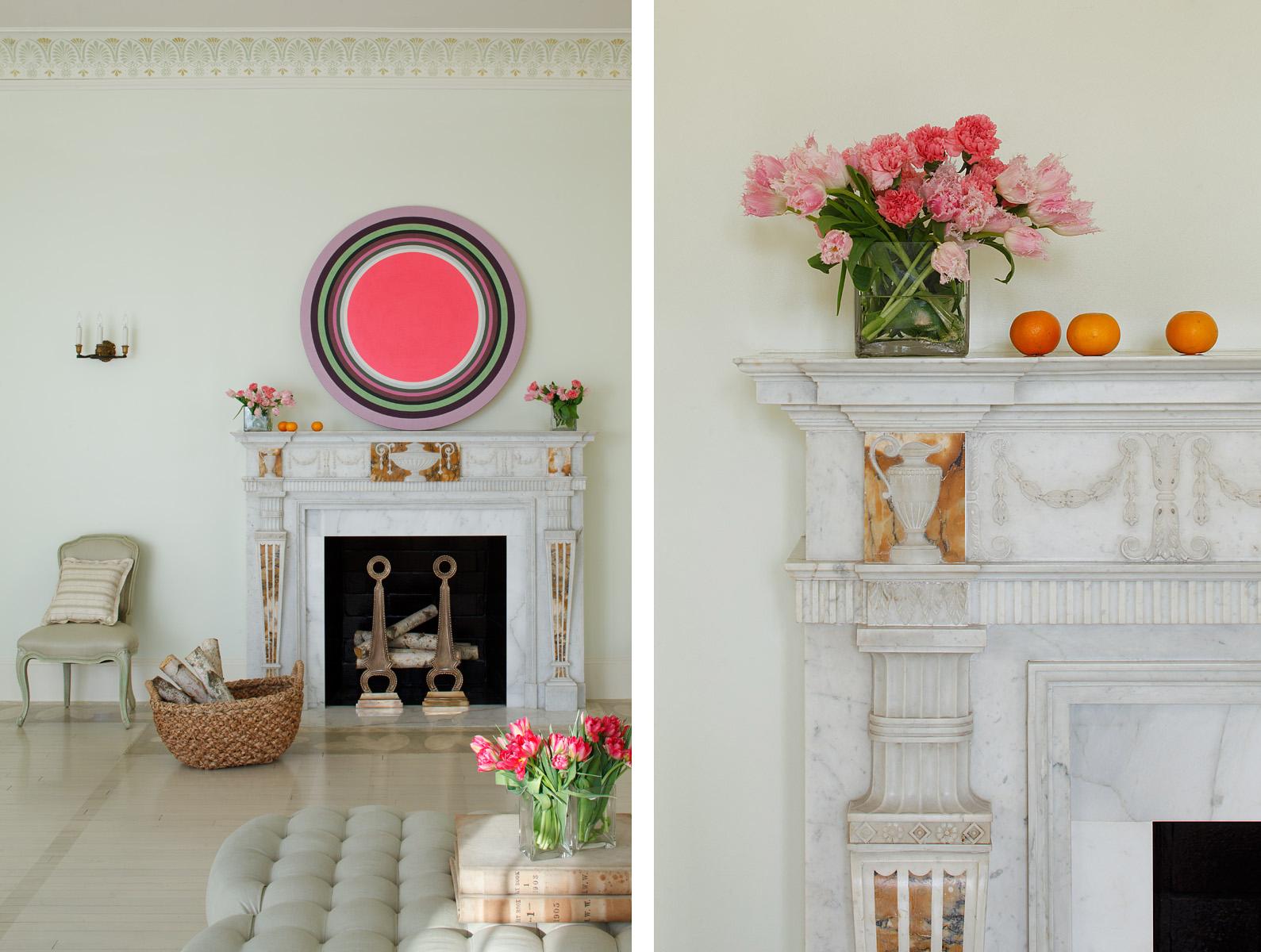 Mary Douglas Drysdale /House BeautifulRogers Residence McLean, VA