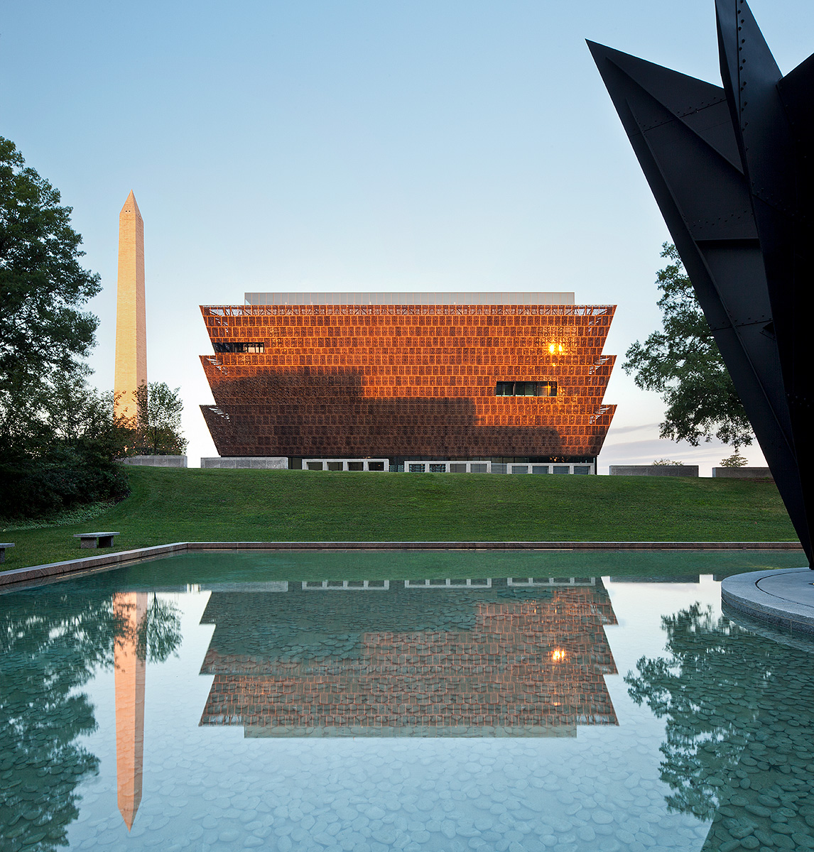 Smithsonian National Museum of African American History and CultureWashington, DCArchitect:  Sir David Adjaye / Adjaye Associates