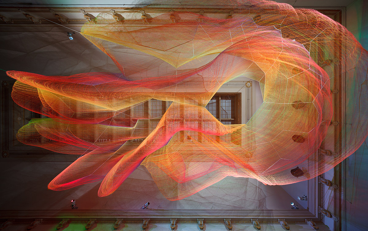 Janet Echelman1.8WONDER Exhibition 2015-16RENWICK GALLERYSmithsonian Washington, DC