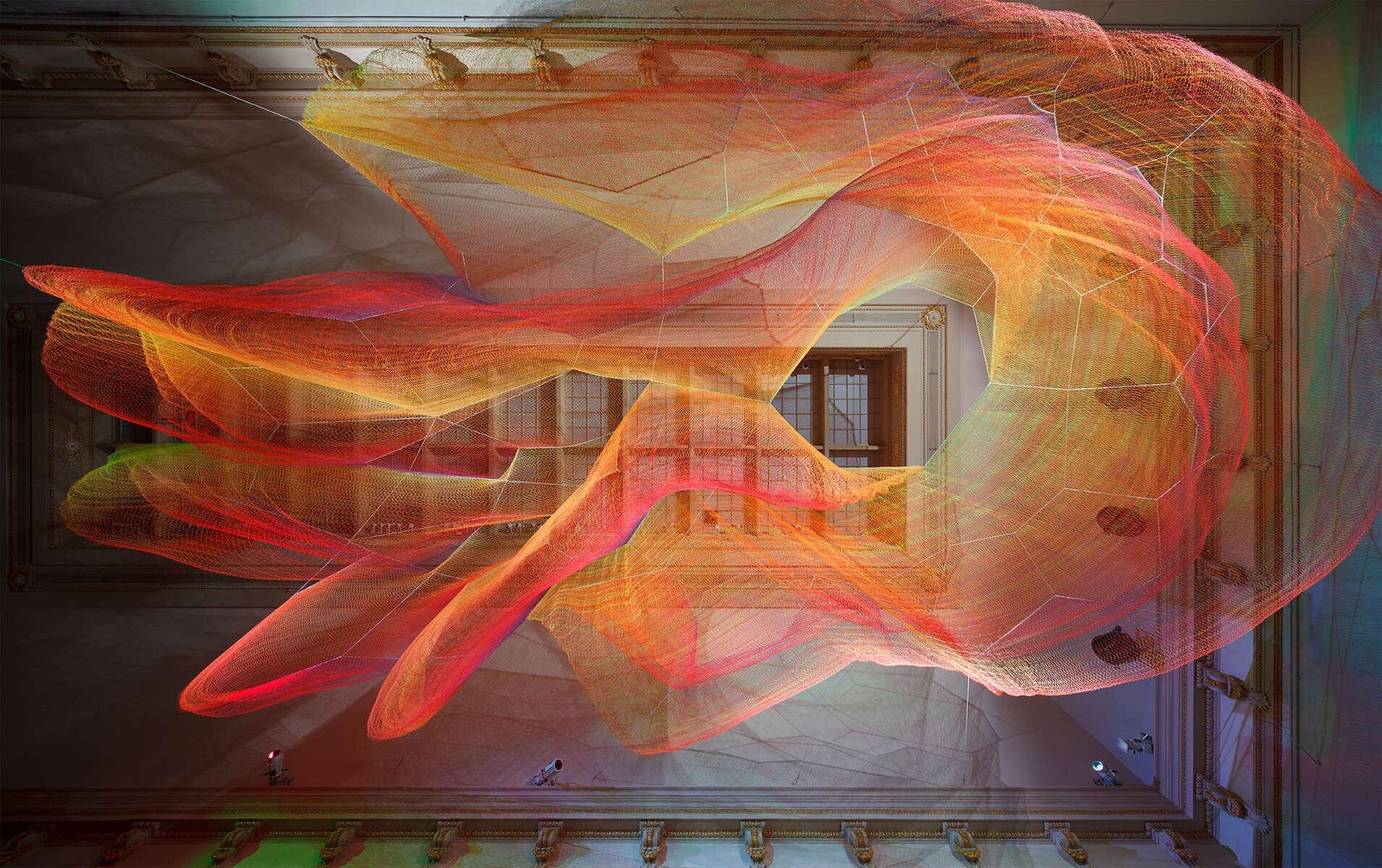 1.8Janet EchelmanRenwick GallerySmithsonian American Art MuseumWashington, DCJanet Echelman1.8WONDER Exhibition 2015-16