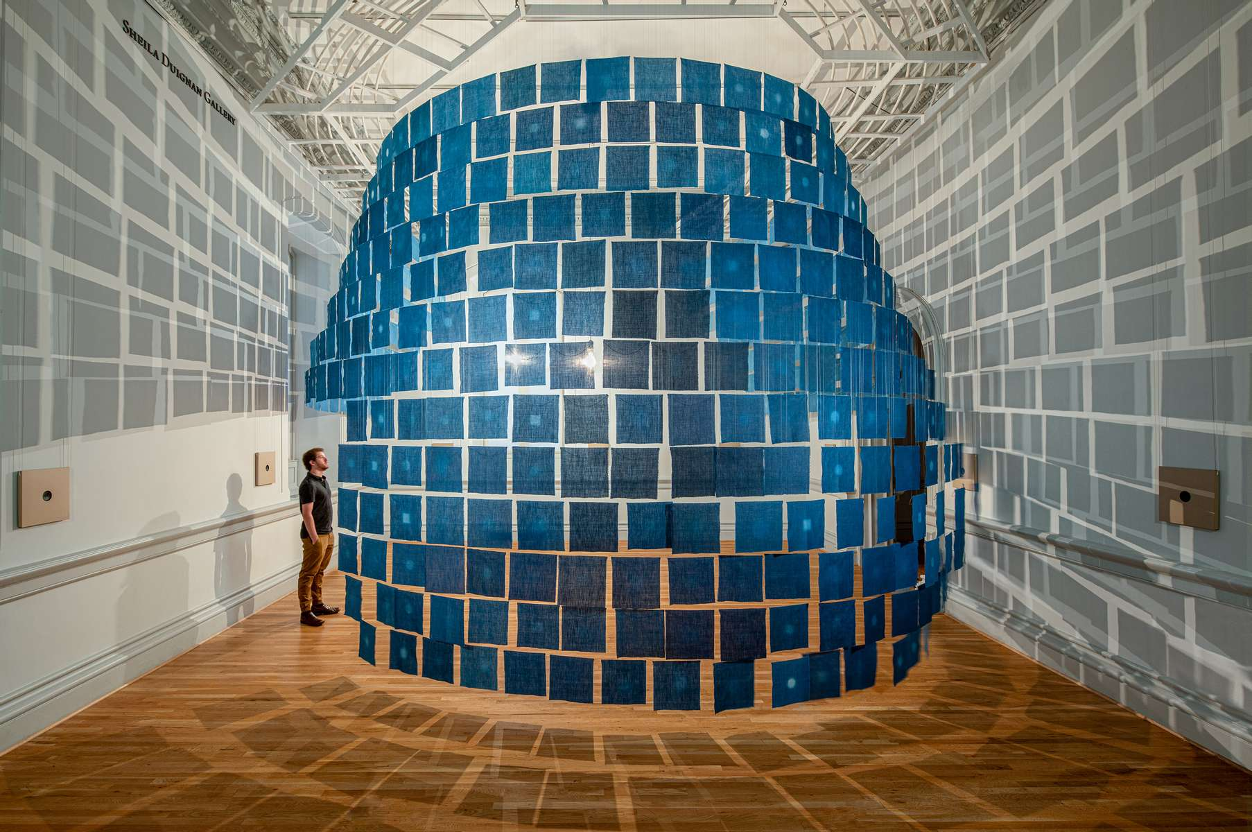 Rowland RickettsAi no Keshiki – Indigo Views{quote}Forces of Nature{quote} Renwick Biennial Invitational 2021Smithsonian / Renwick Gallery