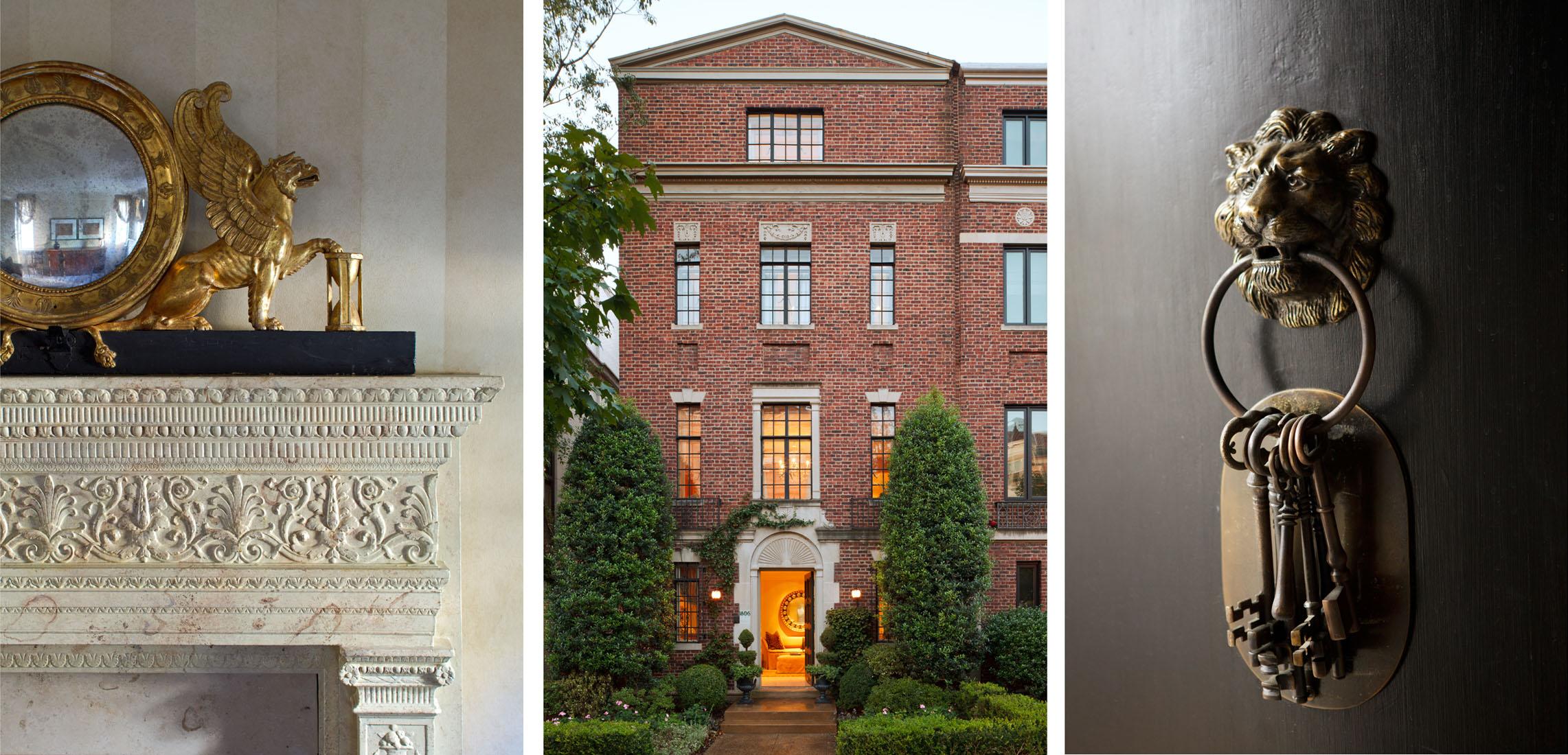 Mary Douglas Drysdale /LUXE Home + DesignEmbassy Row ResidenceWashington, DC