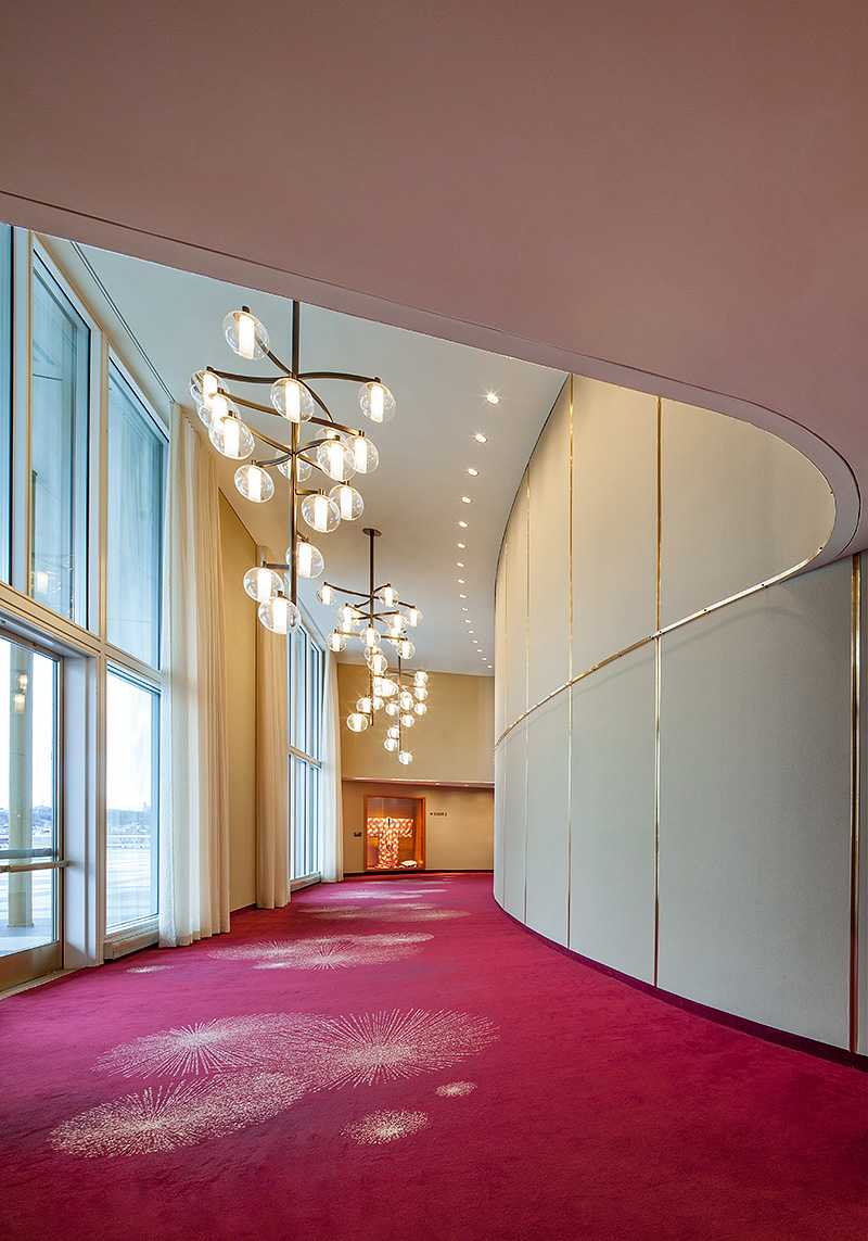 The Kennedy Center for the Performing ArtsTerrace TheaterWashington, DCDesigned by Quinn Evans Architects