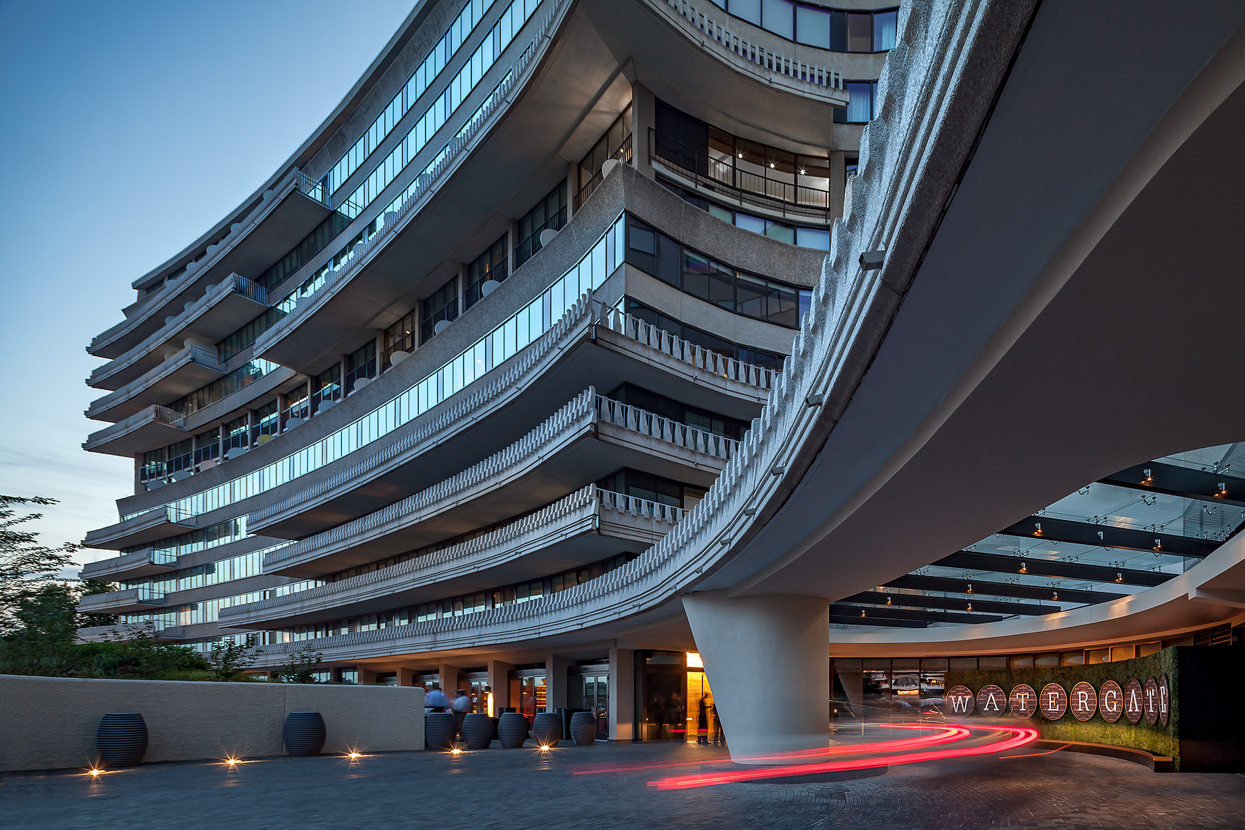 The Watergate HotelWashington, DCOriginal Mid-Century design byLuigi MorettiNew design by Ron Arad Architects, London