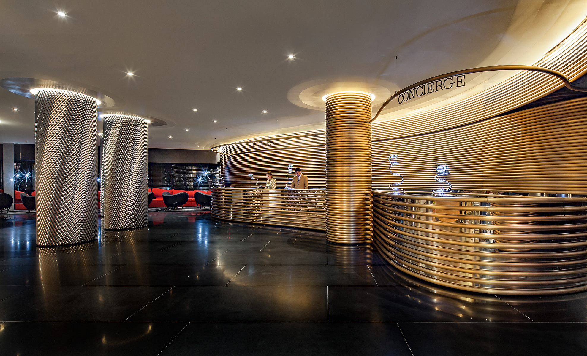 The Watergate HotelWashington, DCDesign:  Ron Arad. LondonEuroCapital