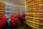 The NEXT Whisky BarThe Watergate HotelWashington, DCDesign by Ron Arad Architects, London