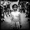 Girl at African Parade
