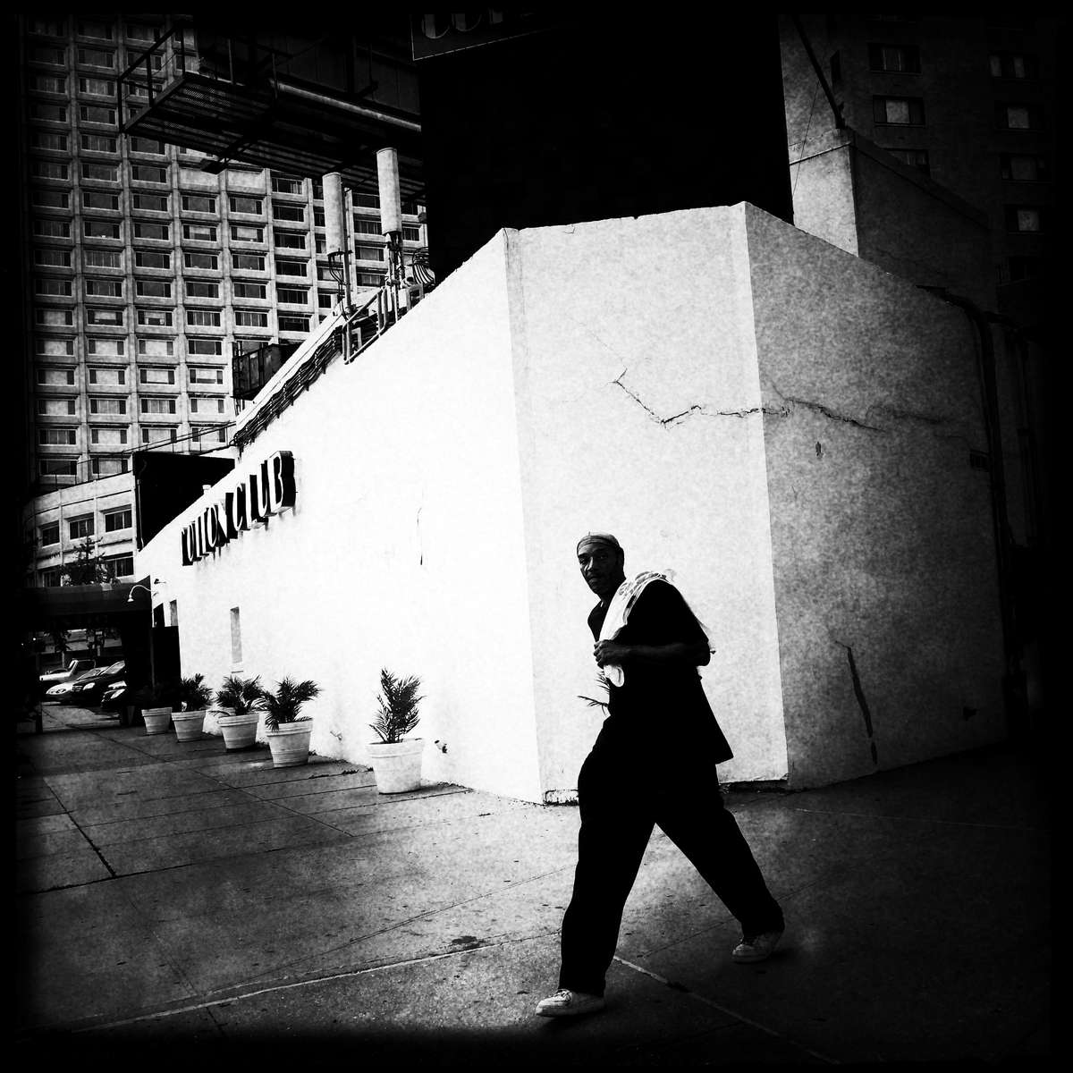 Man in West Harlem, as the area is drastically changing. #westharlem