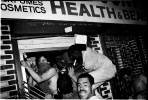 Near the Tompkins Square Park, a shop recognized as simbole of gentrificatin are looted. New York, May 27, 1991.