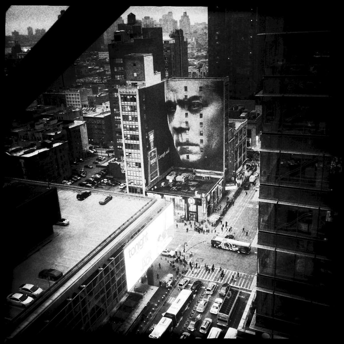 New York urban landscape -- Midtown, May. 2014.